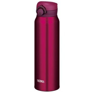 【ブラックフライデーでポイント最大43倍】真空断熱ケータイマグ/水筒 【750ml】 ワインレッド 大容量 超軽量 直飲み 保温・保冷両対応 『THERMOS サーモス』