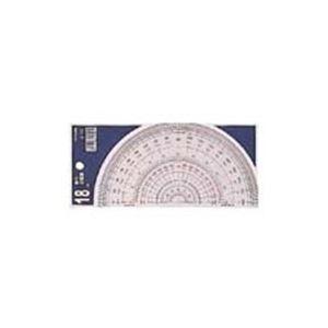 (業務用100セット)コンサイス半円分度器S-1818cm【×100セット】