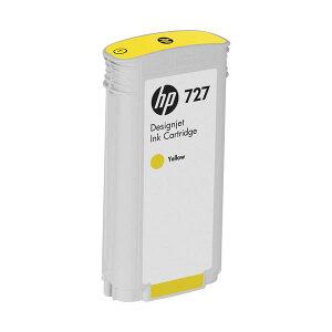 (まとめ)HP727インクカートリッジ染料イエロー130mlB3P21A1個【×3セット】