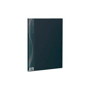 B4クリアブック20ポケットベーシックカラーCB1022D-Nブラック【×10セット】