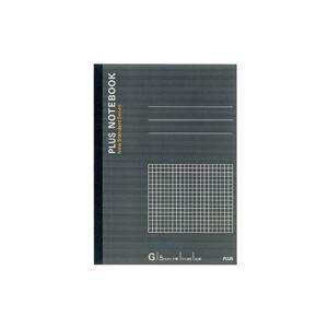 (業務用500セット)プラスノートブックNO-003GSB5方眼罫【×500セット】