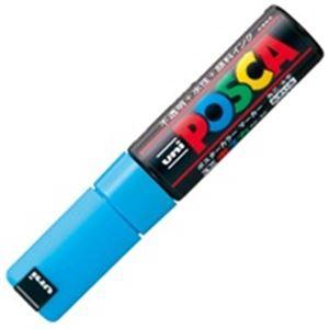 (業務用200セット)三菱鉛筆ポスカPC-8K.8太字水色【×200セット】