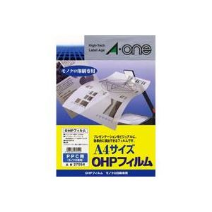 (業務用30セット)エーワンOHPフィルム27054コピー用A420枚【×30セット】