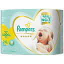 (まとめ)P&G パンパース肌へのいちばん パンパース はじめての肌へのいちばん テープ スーパージャンボ 新生児小さめ 24枚 【×3点セット】 1