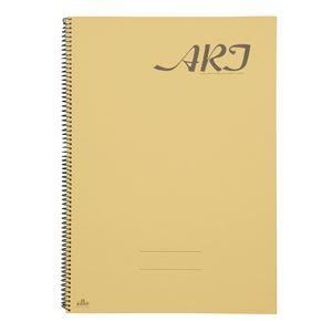 (まとめ)アーテックスケッチブックアート9401B4「学習資料付」【×15セット】