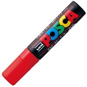 (業務用100セット)三菱鉛筆ポスカPC-17K.15極太赤【×100セット】