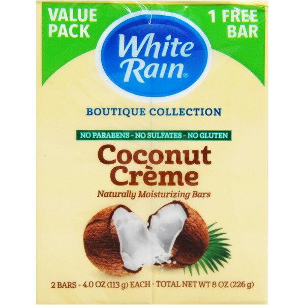 【マラソンでポイント最大35倍】ホワイトレインバーソープ ココナッツクリーム×【12個セット】