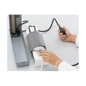 血圧測定原理学習用シミュレーター】看護実習モデル「けつあつくん」軽量・コンパクトM-154-0【代引不可】