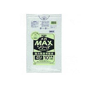 メガMAX45L10枚入011HD+メタロセン半透明SM43(150袋×5)750袋セット38-271