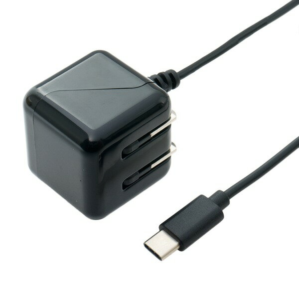 パソコン・周辺機器, その他  2.1A USB Type-C AC 2m IPA-CC20BK