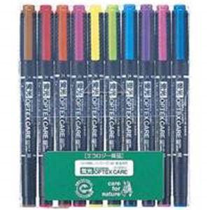 (業務用50セット)ゼブラZEBRA蛍光オプテックスケアWKCR1-10C10色セット【×50セット】