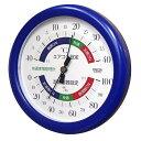 クレセル 温湿度計(快適家電管理表示) 壁掛け・卓上用スタンド付き ブルー TR-130BB