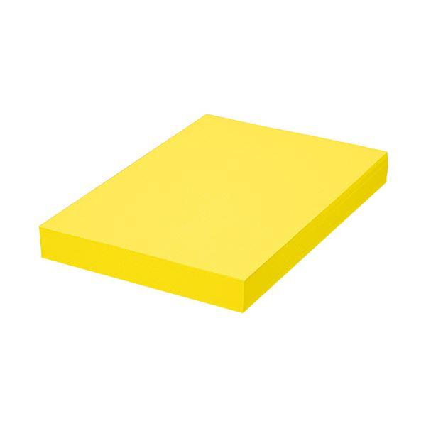 (まとめ)TANOSEE αエコカラーペーパーIIシトラスイエロー B4 1セット(2500枚:500枚×5冊)【×3セット】画像