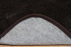 フィラメント素材ホットカーペットカバー『フィリップ』ブラウン200×300cm