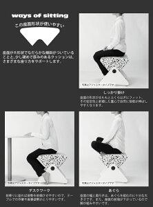 デザイナーズスツールキャスター付きホワイト(ビニールレザー:アイボリー】エラストマー)【Mona.Dee】モナディーWAS01SC