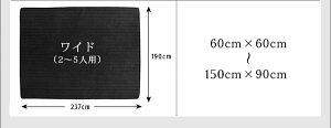 ソファーコの字タイプ大15mm厚【Wille】ブラックこたつに合わせるフロアコーナーソファ【Wille】ヴィレ【代引不可】