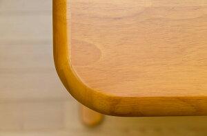 ダイニングテーブル(コローナ)【120cm×75cm】木製アジャスター付きT字型脚ダークブラウン【】