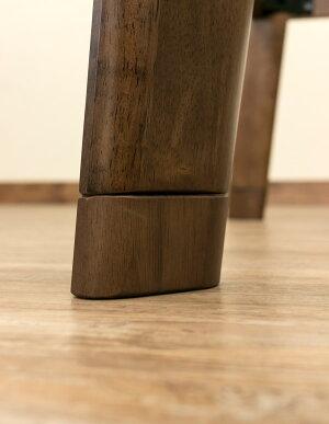 継ぎ足式モダンこたつテーブルDX本体【長方形/120cm×80cm】木製手元コントローラー付き木目調【代引不可】