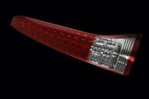 Valenti LED テールランプ C26 セレナ TN26SER-HC-1 ハーフレッド/クローム 車検対応 ヴァレンティ