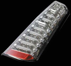 Valenti LED テールランプ ワゴンR MH34S フレア MJ34S TS34WGR-CC-1 クリア/クローム 車検対応 ヴァレンティ