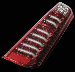 Valenti LED テールランプ ワゴンR MH34S フレア MJ34S TS34WGR-CR-1 クリア/レッドクローム 車検対応 ヴァレンティ
