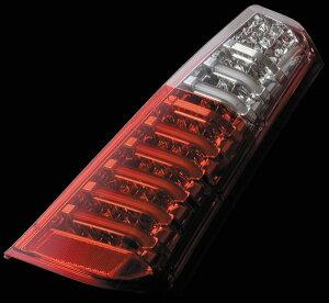 Valenti LED テールランプ ワゴンR MH34S フレア MJ34S TS34WGR-HC-1 ハーフレッド/クローム 車検対応 ヴァレンティ