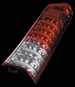 Valenti LED テールランプ N-BOX JF1/2 TH12NBX-HC-1 ハーフレッド/クローム 車検対応 ヴァレンティ