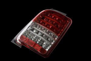 Valenti LED テールランプ N-ONE JG1/2 TH12NON-HC-1 ハーフレッド/クローム 車検対応 ヴァレンティ NONE Nワン
