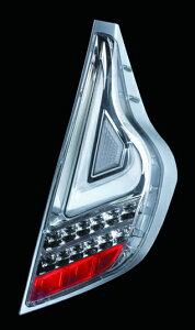 Valenti LED テールランプ アクア NHP10 TT10AQA-CC-1 クリア/クローム 車検対応 ヴァレンティ AQUA