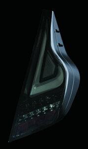 Valenti LED テールランプ アクア NHP10 TT10AQA-SB-1 ライトスモーク/ブラッククローム 車検対応 ヴァレンティ AQUA