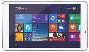 【あす楽】【送料無料】KEIAN Windows 8.1搭載 タブレット KJT-80W 8インチ 1280x800 IPS液晶 IntelクアッドコアCPU 32GB 恵安