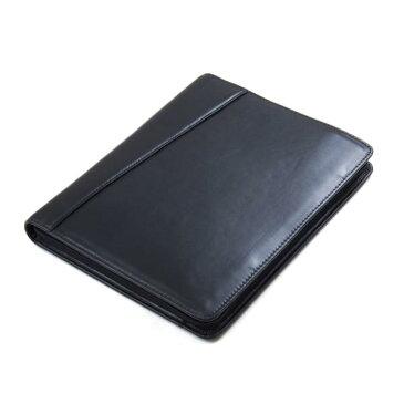 iPad Air / iPad Pro 10.5 inch / iPad Pro 12.9 inch用レザーケース A4サイズ書類用 システム手帳タイプビジネスブリーフケース