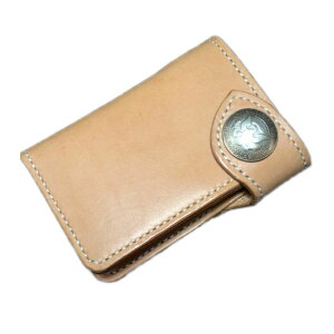 [Nume кожаный кошелек средний кошелек Kennedy 1/2 $ серебряная монета concho] короткий кошелек Натуральный кожаный бумажник Nume