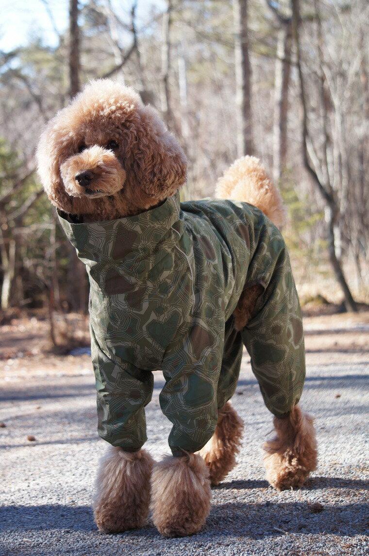 【Hurtta】【フルッタ】・ドッグレインコート 「Downpour Suit ダウンポアスーツ」中・大型犬用