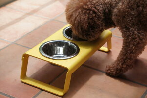 MiaCaraフードボール【dogBarLサイズ】Madeinswiss犬用食器台食器台