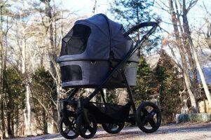 【送料無料】北欧デザイン・ヨーロッパ製ドッグカート【ファーストバギー・XC】犬用カートペットカート