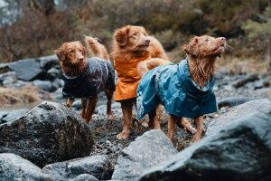 【Hurtta】・ドッグレインコート「HurttaProRaincoat」小・中型犬用