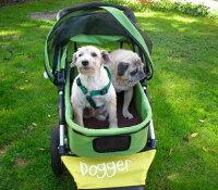 【送料無料】カナダ発!!機能性抜群の3輪ドッグカート【Dogger】犬用カート