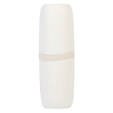 アストロ 歯ブラシケース ホワイト 携帯用 シンプル コップになる 持ち運び 711-39
