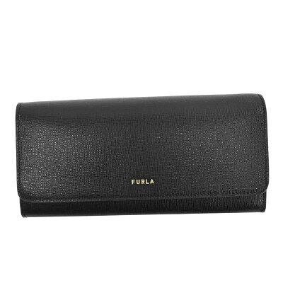 お金を引き寄せ守る黒い財布 FURLA バビロン 長財布