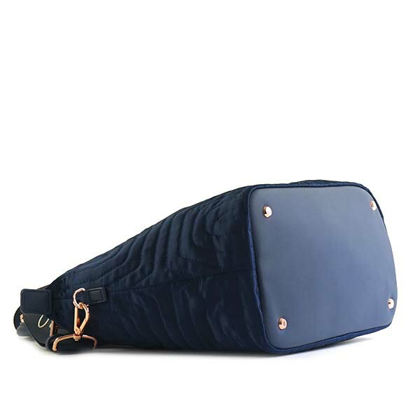 miniature 2 - Ted-Baker-Tote-Bag-2Way-Women-Navy-143258-Quilted-Bow-Small-Nylon