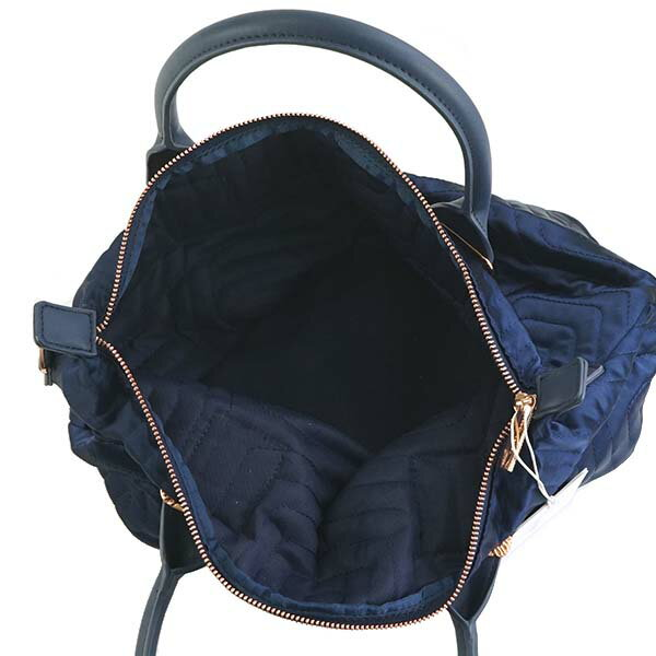 miniature 3 - Ted-Baker-Tote-Bag-2Way-Women-Navy-143258-Quilted-Bow-Small-Nylon