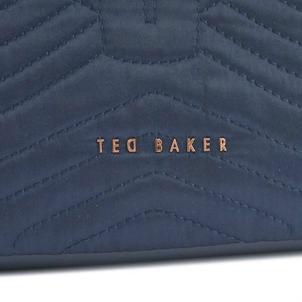 miniature 4 - Ted-Baker-Tote-Bag-2Way-Women-Navy-143258-Quilted-Bow-Small-Nylon