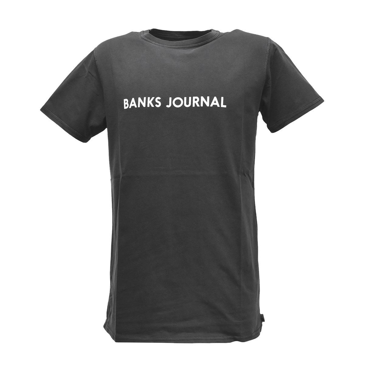 トップス, Tシャツ・カットソー  BANKS JOURNAL T WTS0513 LABEL STAPLE CLASSIC TEE S