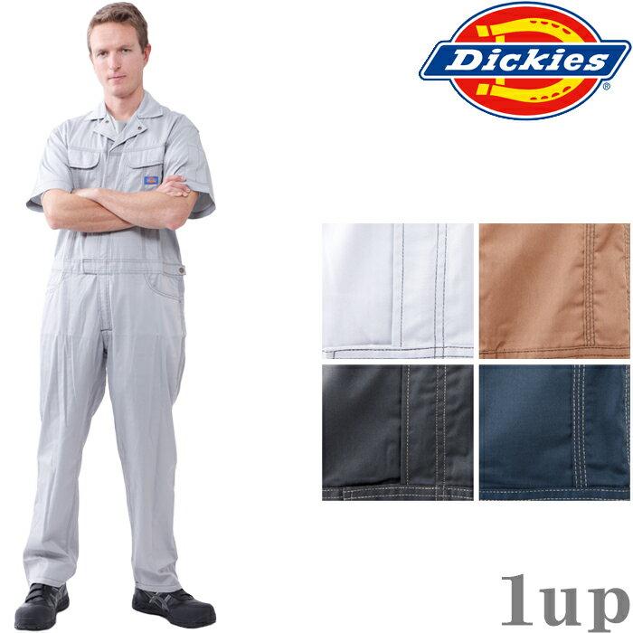 ディッキーズ つなぎ 711 半袖 ツヅキ服 4L-5L (Dickies ツナギ カバーオール 春夏用)