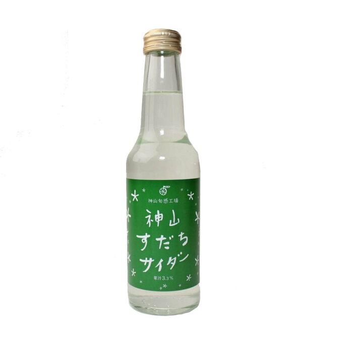 サイダー 神山すだちサイダー(5本)徳島産すだち果汁入り
