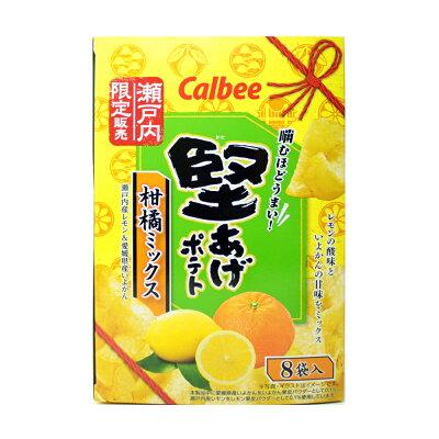 堅あげポテト 柑橘ミックス