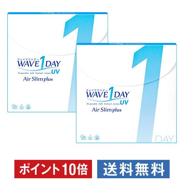 WAVEワンデー UV エアスリム plus ×2箱セット