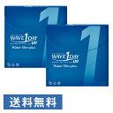 WAVEワンデー UV ウォータースリム plus ×2箱セット WAVE コンタクト コンタクトレ...