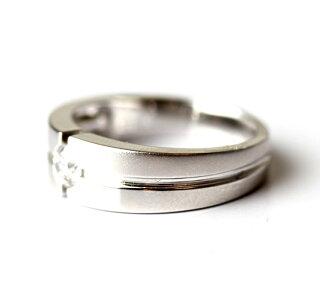 ●K18WGMensダイヤモンドリング【指輪】【VS1-VS2】●18金18Kホワイトゴールド【メンズ男性用】●PRIMADIAMONDプリマダイヤモンド【送料無料】【ギフト贈り物】
